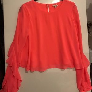 RIVER ISLAND CORAL TOP